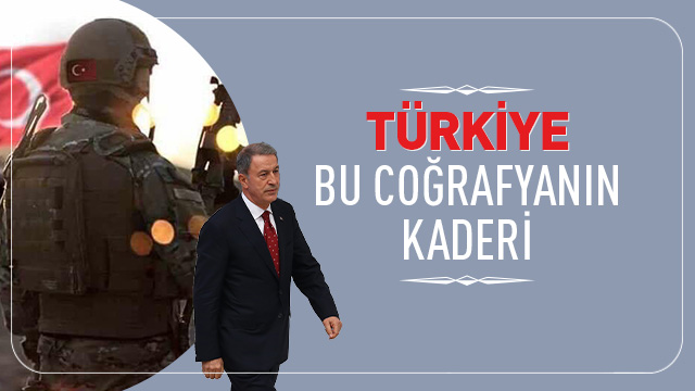 Hulusi Akar: Kimse DEAŞ ile Türkiye gibi mücadele etmedi