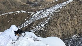 Şırnak'ta terör operasyonunda 11 sığınak ele geçirildi