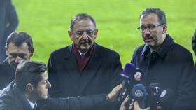 Bakan Kasapoğlu'ndan Ankaralılara stat müjdesi