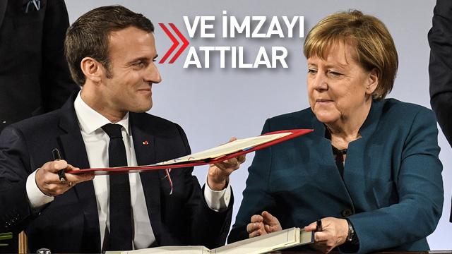 Almanya ve Fransa imzayı attı