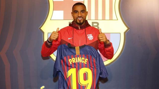 Barcelona, Kevin-Prince Boateng'i kiraladı