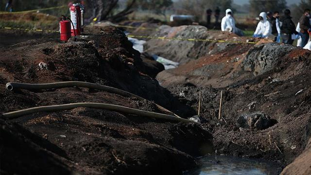 Meksika'daki boru hattı patlamasında hayatını kaybedenlerin sayısı 89'a yükseldi