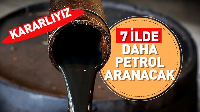 TPAO'ya 7 ilde 7 petrol arama ruhsatı