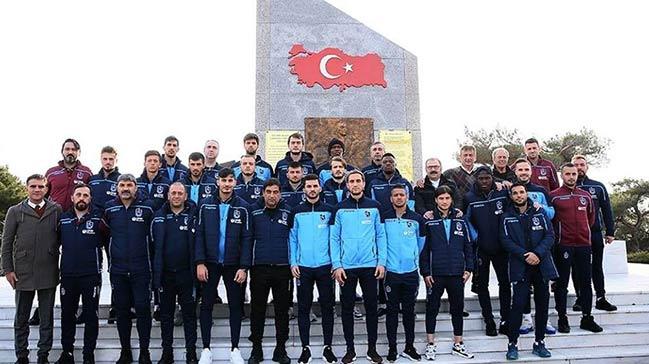 Trabzonspor, Kocaseyit'in kabrini ziyaret etti