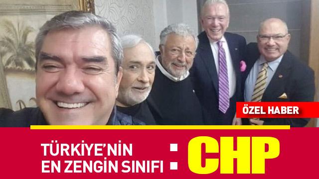 Türkiye'nin en zengin sınıfı: CHP