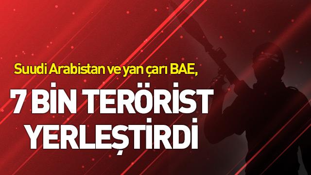 Korkunç iddia! 7 bin terörist yerleştirdiler