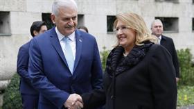 Malta Cumhurbaşkanı Preca Türkiye'de