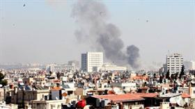 Şam'da Rusya Büyükelçiği yakınlarında patlama!