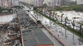 Antalya'da hortum: 1 ölü, 9 yaralı