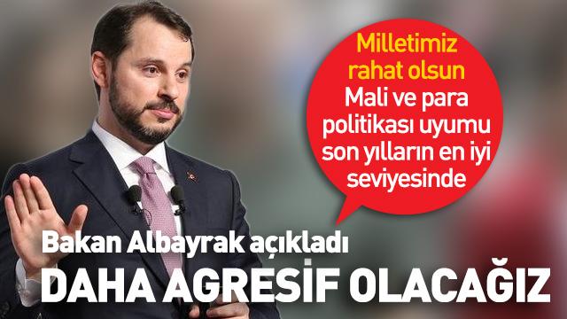 Bakan Albayrak 'Türkiye aktif ve agresif olacak' Davos'tan önemli açıklama