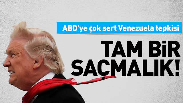 AK Parti Sözcüsü Çelik'ten ABD'ye Venezuela tepkisi