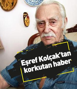 Eşref Kolçak Bursa'da hastaneye kaldırıldı