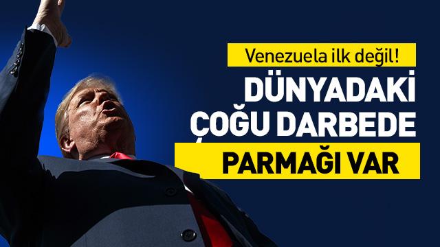 ABD'nin müdahil olduğu ilk darbe Venezuela değil!