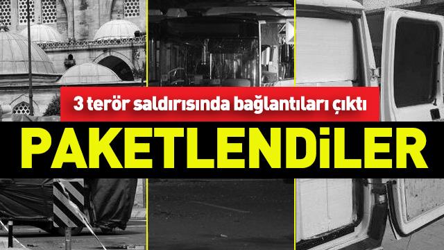 İstanbuldaki 3 terör saldırısında yeni gelişme İşbirlikçiler yakalandı 97
