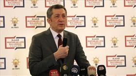 Milli Eğitim Bakanı Ziya Selçuk: Eğitim sisteminin gelişmesi hususunu önemsiyoruz