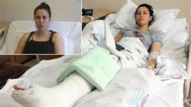 Eşini döner bıçağıyla yaralayan sanığa 16 yıl 9 ay hapis cezası verildi