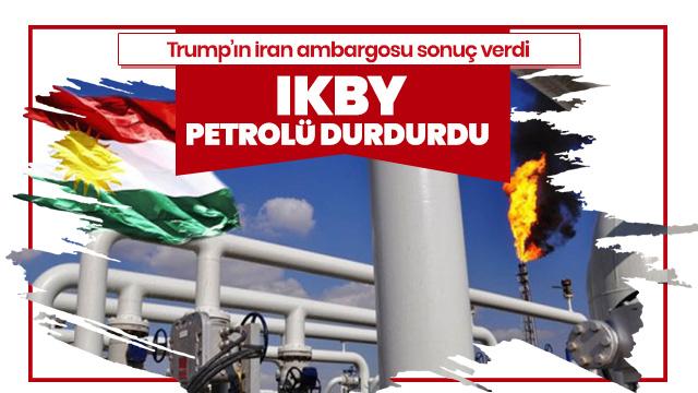 IKBY, İran'a petrol ihracatını durdurdu