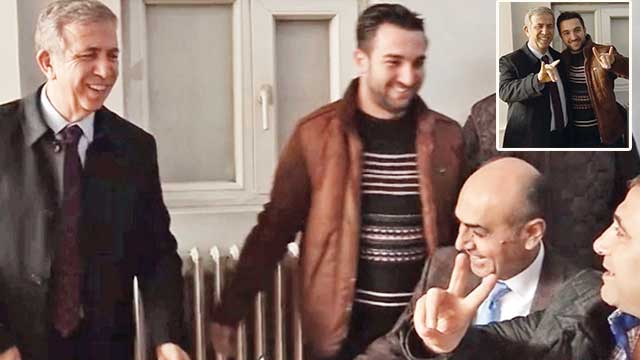 Yavaş HDP'lilerle kol kola