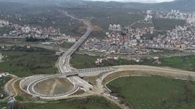 Türkiye'nin en pahalı yatırımı olan Ordu Çevre Yolu'nun birinci etabı Mart ayı sonunda hizmete girecek