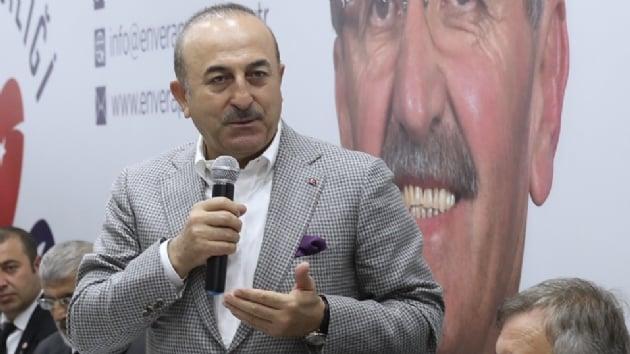 Dışişleri Bakanı Çavuşoğlu: Ne kadar terörist varsa içinde olduğu bir ittifaka şehirleri teslim eder misiniz?