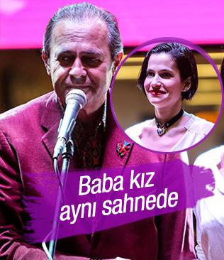 Baba kız aynı sahnede