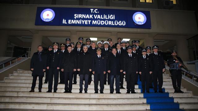 Emniyet Genel Müdürü Şırnak'ta