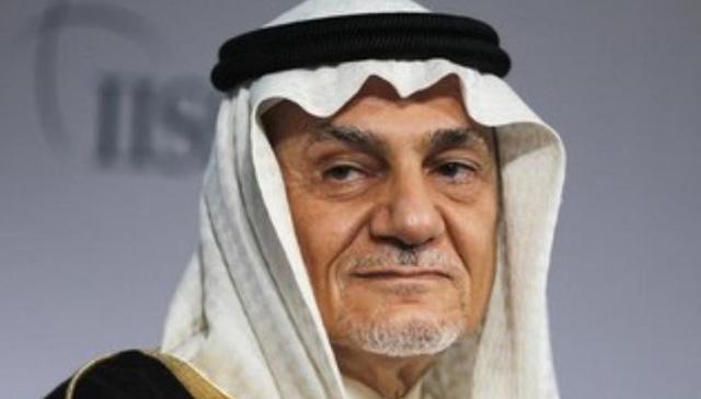 Prens Turki Bin Faysal: İsrailli parası Suudi beyniyle daha ileriye gidebiliriz