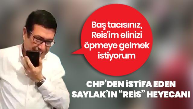Barış Saylak'ın Erdoğan'la telefon görüşmesi