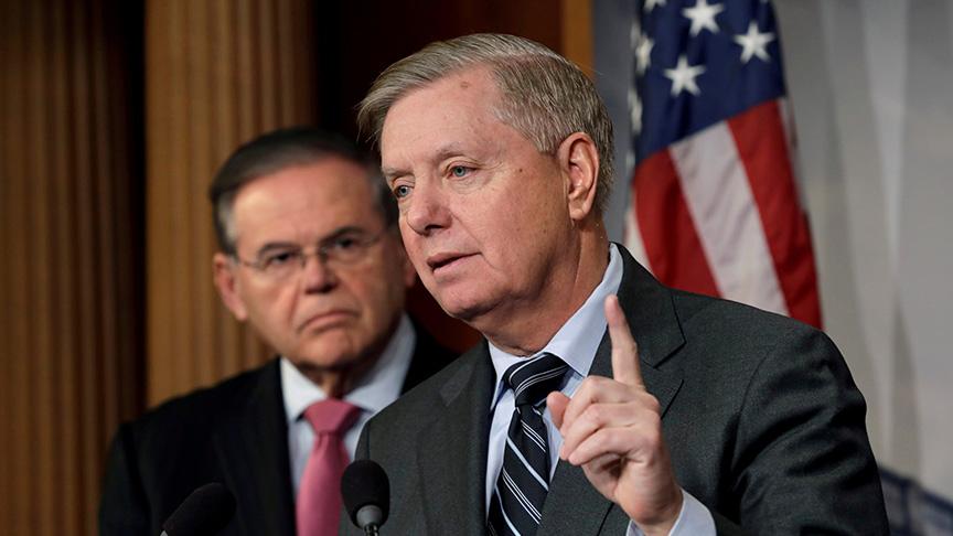 ABD'li senatör Graham: ABD Avrupa'dan Suriye'ye asker göndermelerini isteyecek