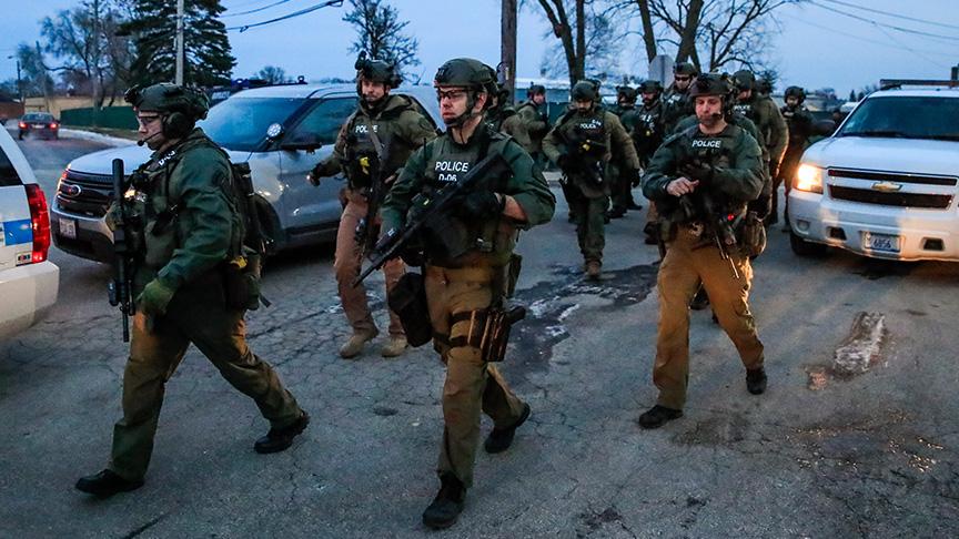ABD'de iş yerinde silahlı saldırı: 5 ölü, 5 yaralı