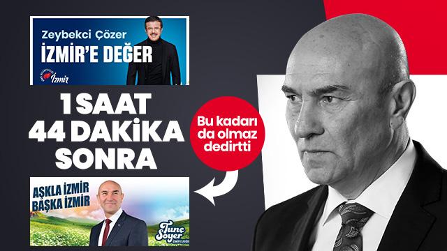 CHP İzmir'de AK Parti'yi taklit ediyor