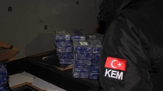 Gürbulak Sınır Kapısı'nda 25 kilogram eroin ele geçirildi
