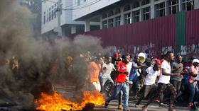 """Haiti'de """"Amerikan kuklası"""" yönetime karşı isyan başladı, çok sayıda ölü var! Dünya basını kör..."""