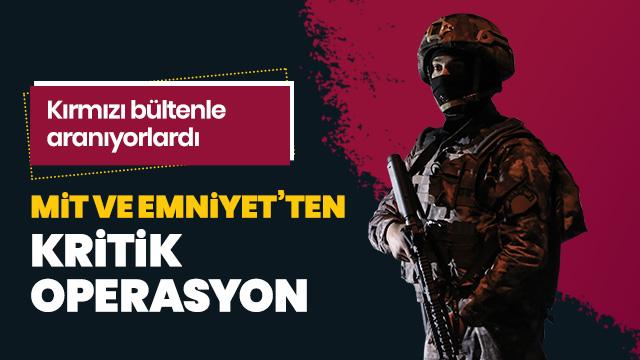 Bursa'da MİT ve Emniyet'ten flaş operasyon