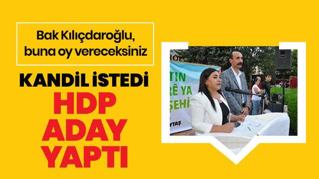 PKK talimatıyla HDP'den aday gösterildi