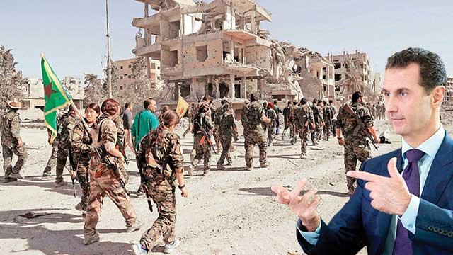 Mehmetçik'e karşı Esed-PKK ittifakı