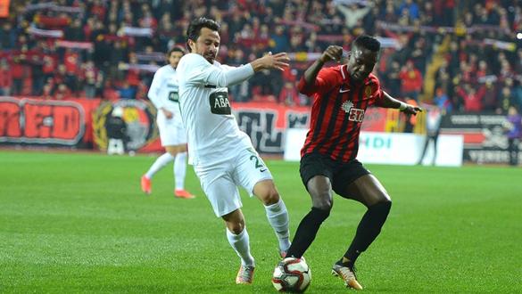 Eskişehirspor - Denizlispor karşılaşması 1-1 sona erdi