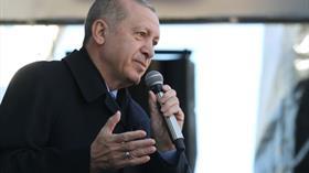 Başkan Erdoğan: Ne pahasına olursa olsun terör koridorunu yıkacağız