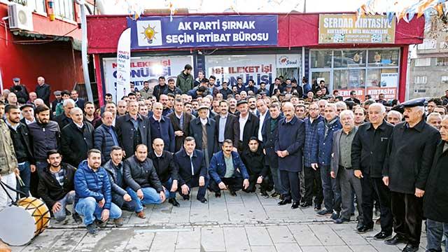 AK Parti'ye destek açıklaması