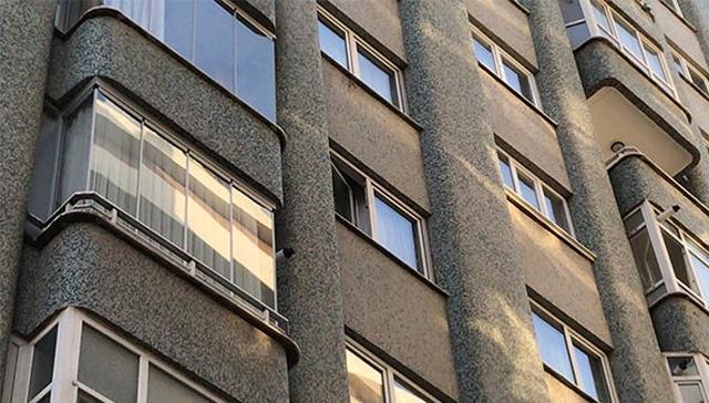 Konya'da yaşlı kadın 4. kattan düşüp hayatını kaybetti
