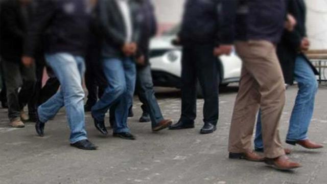 Kayseri'de FETÖ/PDY operasyonu: ByLock'çu 10 şüpheli gözaltında