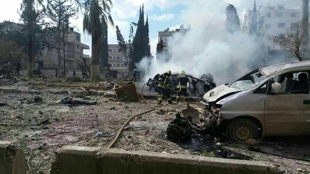 İdlib'de art arda iki bombalı saldırı: 9 ölü, 37 yaralı
