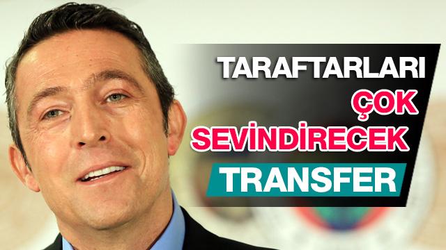 Fenerbahçe'den taraftarları çok sevindirecek transfer