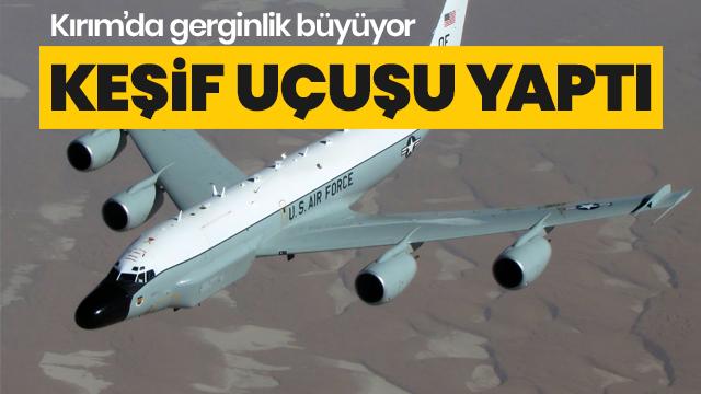 ABD uçağı Kırım üzerinde keşif yaptı