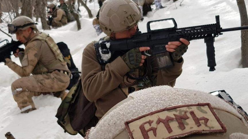Siirt'te JÖH ve komando birlikleri PKK'ya göz açtırmıyor