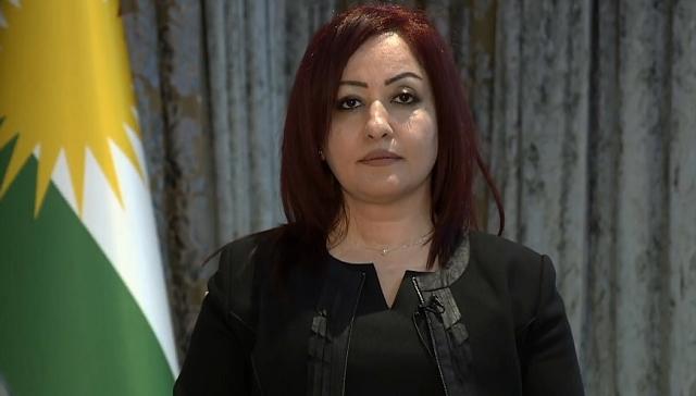 IKBY'de geçici parlamento başkanı  KDP'nin kadın adayı Vala Ferid seçildi