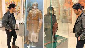 Müzede rol hazırlığı