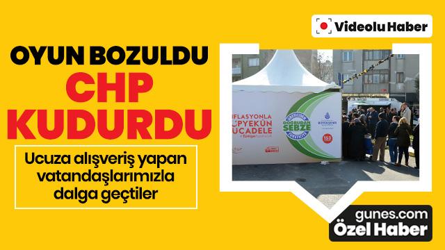 Oyun bozuldu, CHP halkla dalga geçti!