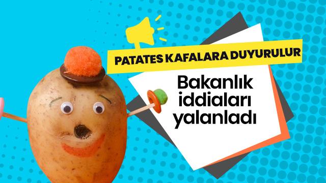 Aksaray'da patates ekimi yasaklanmadı