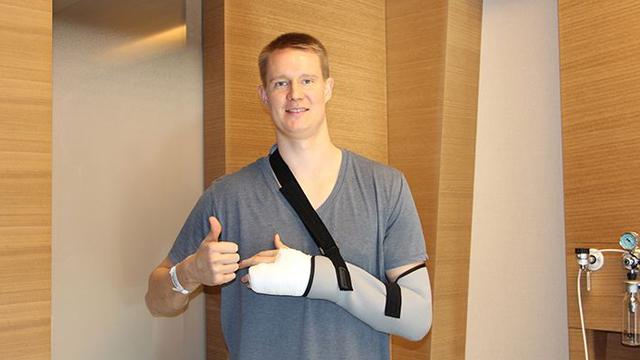 Beşiktaş Sompo Japan'ın yıldızı Robin Benzing ameliyat edildi
